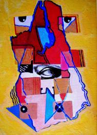 Double-effigie 46 x 33