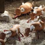 Les Patates Germées (détail)